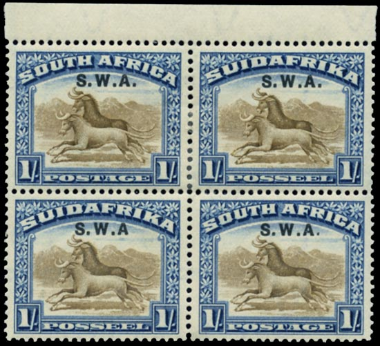 SOUTH WEST AFRICA 1927-30  SG64b/ba Mint