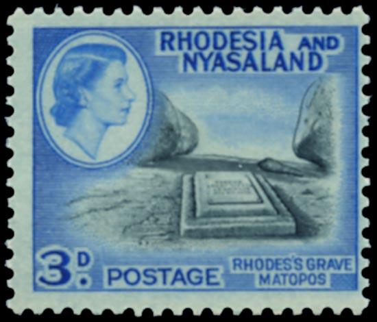 RHODESIA & NYASALAND 1959  SG22b Mint