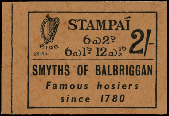 IRELAND 1946  SGSB6 Booklet