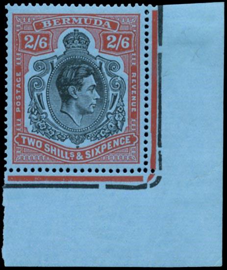 BERMUDA 1943  SG117be Mint