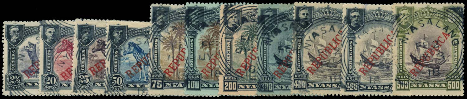 NYASALAND 1918 Cancel