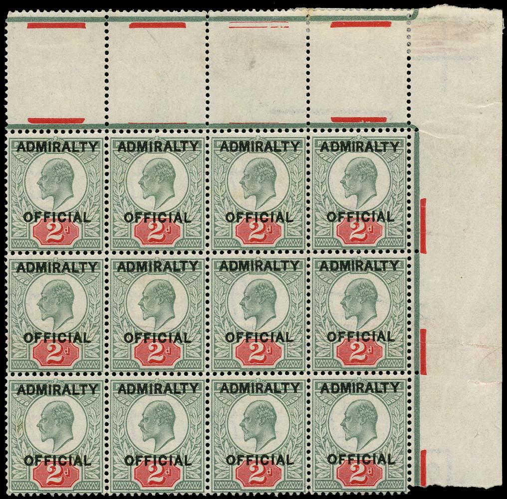 GB 1903  SGO104 Official