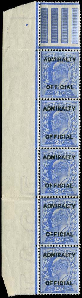 GB 1903  SGO105 Official
