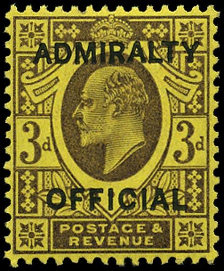 GB 1903  SGO106 Official