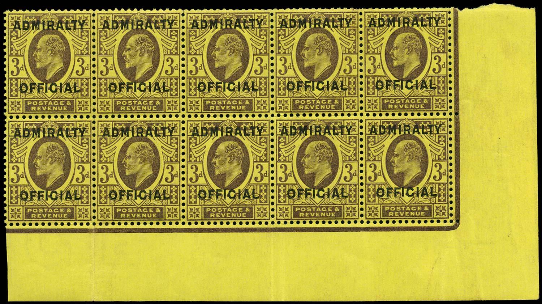 GB 1904  SGO112 Official