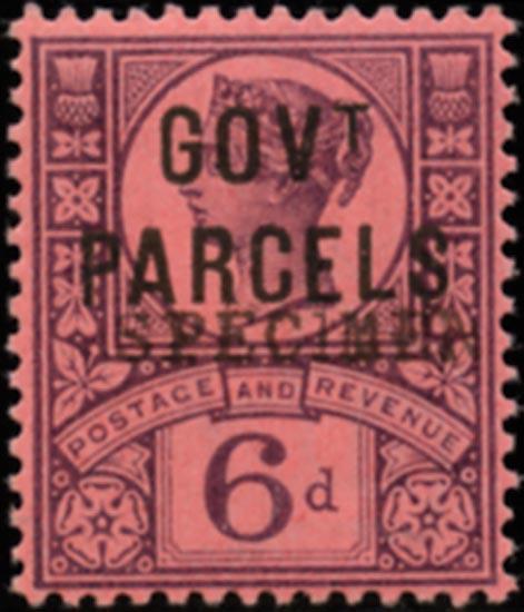 GB 1887  SGO66s Official (Govt. Parcels)