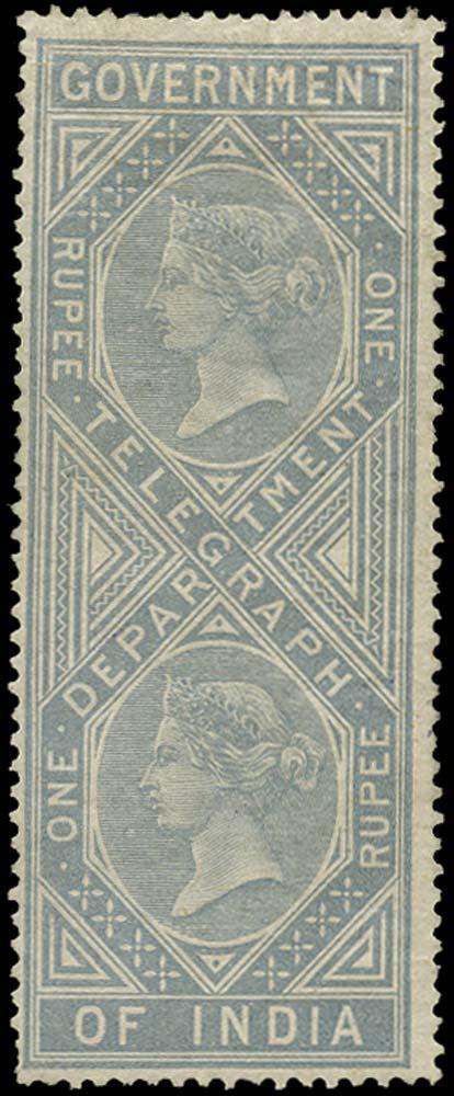 INDIA 1869  SGT8 Telegraph