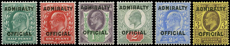 GB 1903-04  SGO107/12 Official