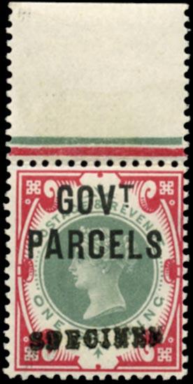GB 1900  SGO72s Official (Govt. Parcels)