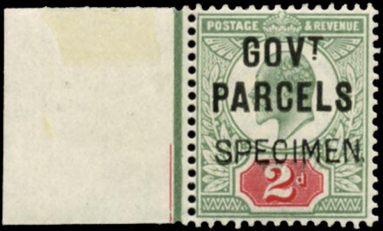 GB 1902  SGO75s Official (Govt. Parcels)