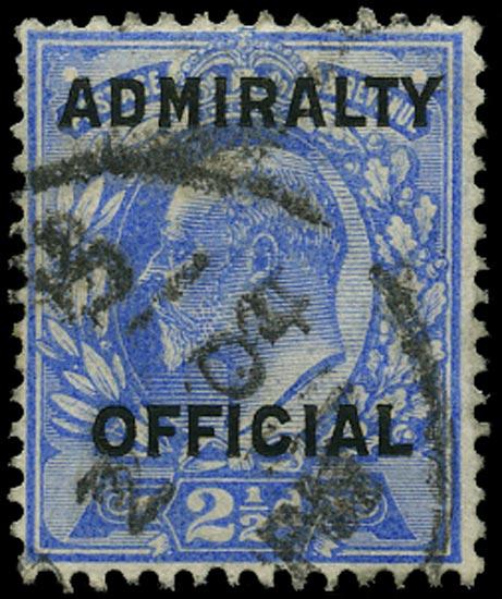 GB 1904  SGO111 Official