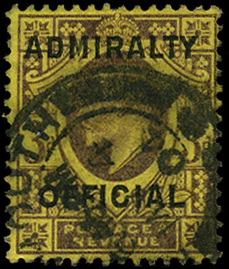 GB 1903  SGO112 Official