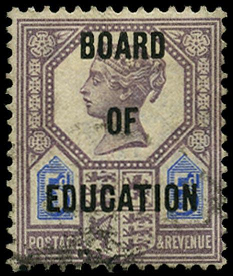 GB 1902  SGO81 Official