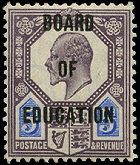 GB 1902  SGO86 Official