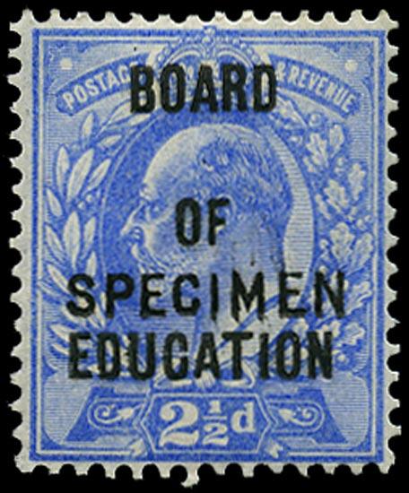GB 1902  SGO85s Official - SPECIMEN type 15