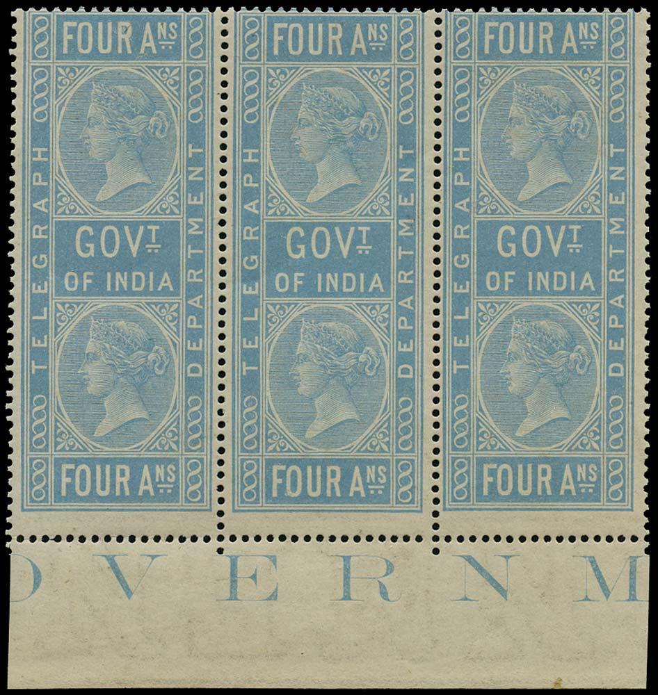 INDIA 1869  SGT6 Telegraph