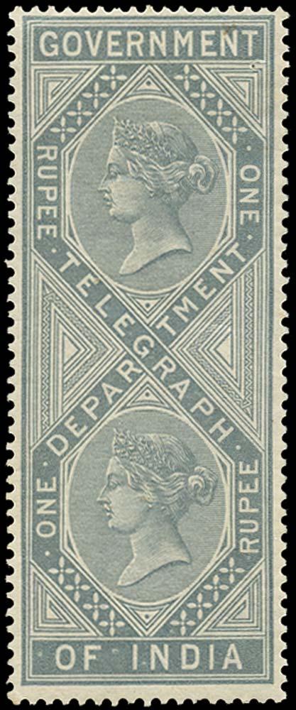 INDIA 1869  SGT9 Telegraph
