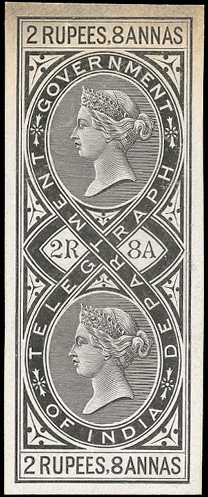 INDIA 1869  SGT10 Telegraph