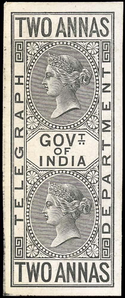 INDIA 1869  SGT5 Telegraph