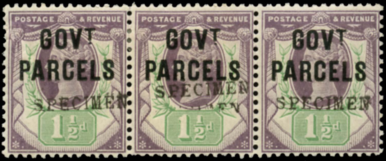 GB 1887  SGO65s Official (Govt. Parcels)