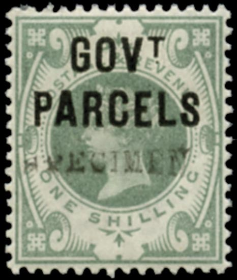GB 1890  SGO68s Official (Govt. Parcels)