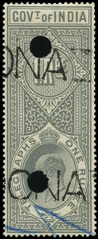 INDIA 1904  SGT60 Telegraph