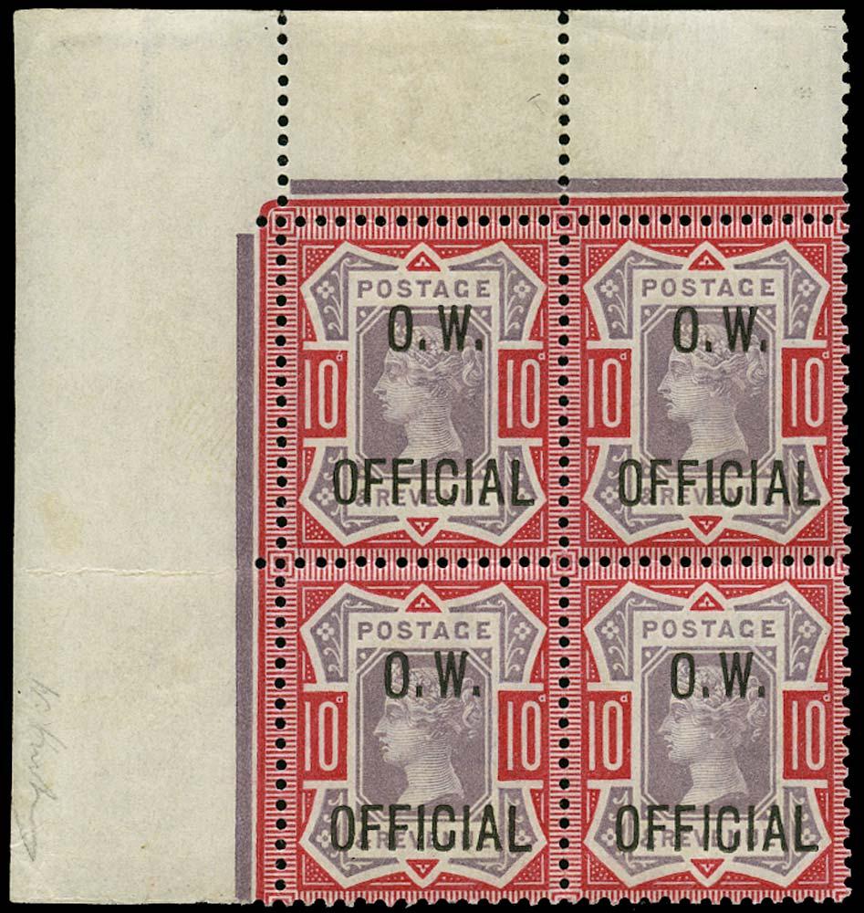 GB 1902  SGO35 Official Unmounted o.g.