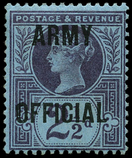 GB 1896  SGO44 Official M/M example