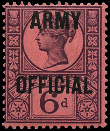 GB 1901  SGO45 Official M/M example