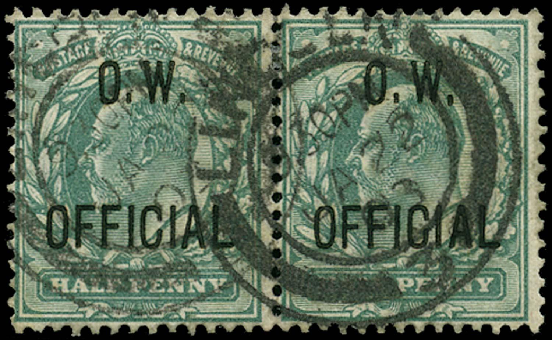 GB 1902  SGO36 Official