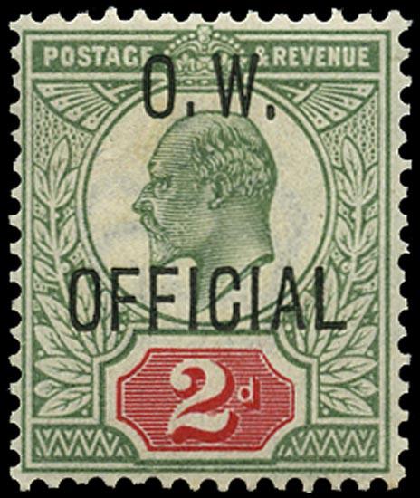 GB 1902  SGO38 Official