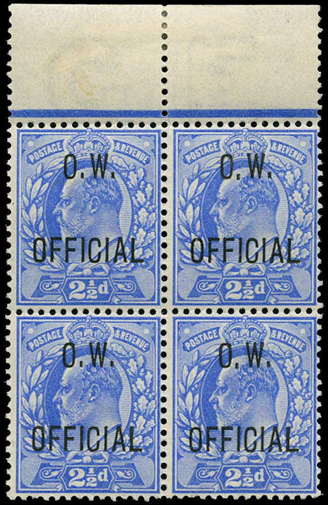 GB 1902  SGO39 Official - unmounted mint