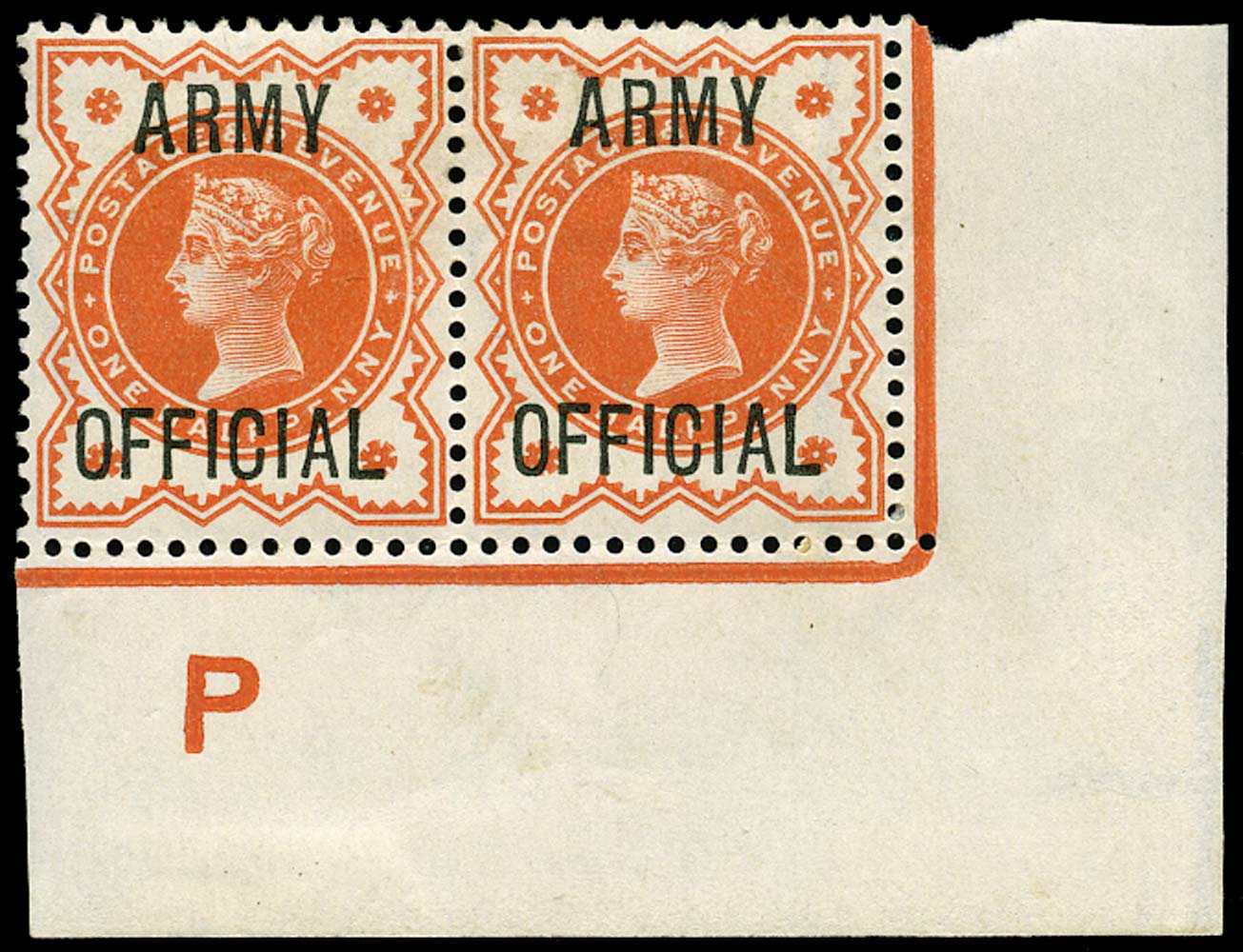GB 1896  SGO41 Official (Army Official)