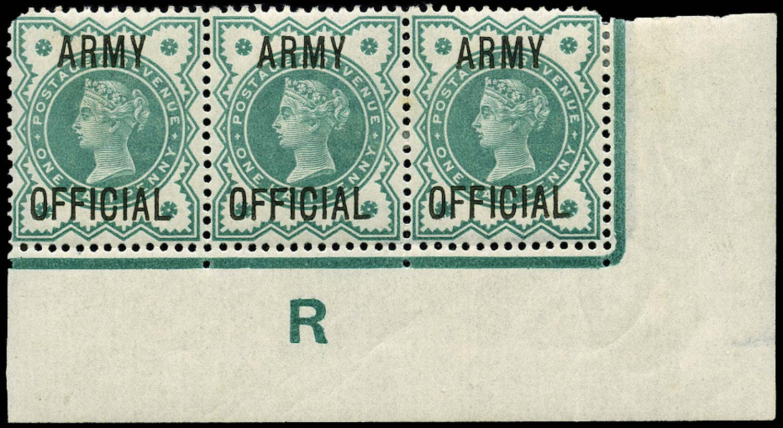 GB 1900  SGO42 Official (Army Official) Control