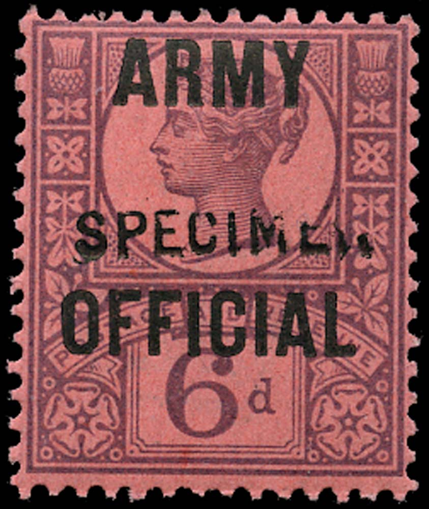 GB 1901  SGO45 Official (Army Official)