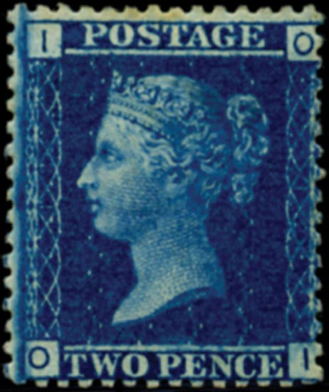 GB 1858  SG45 Pl.12 Mint