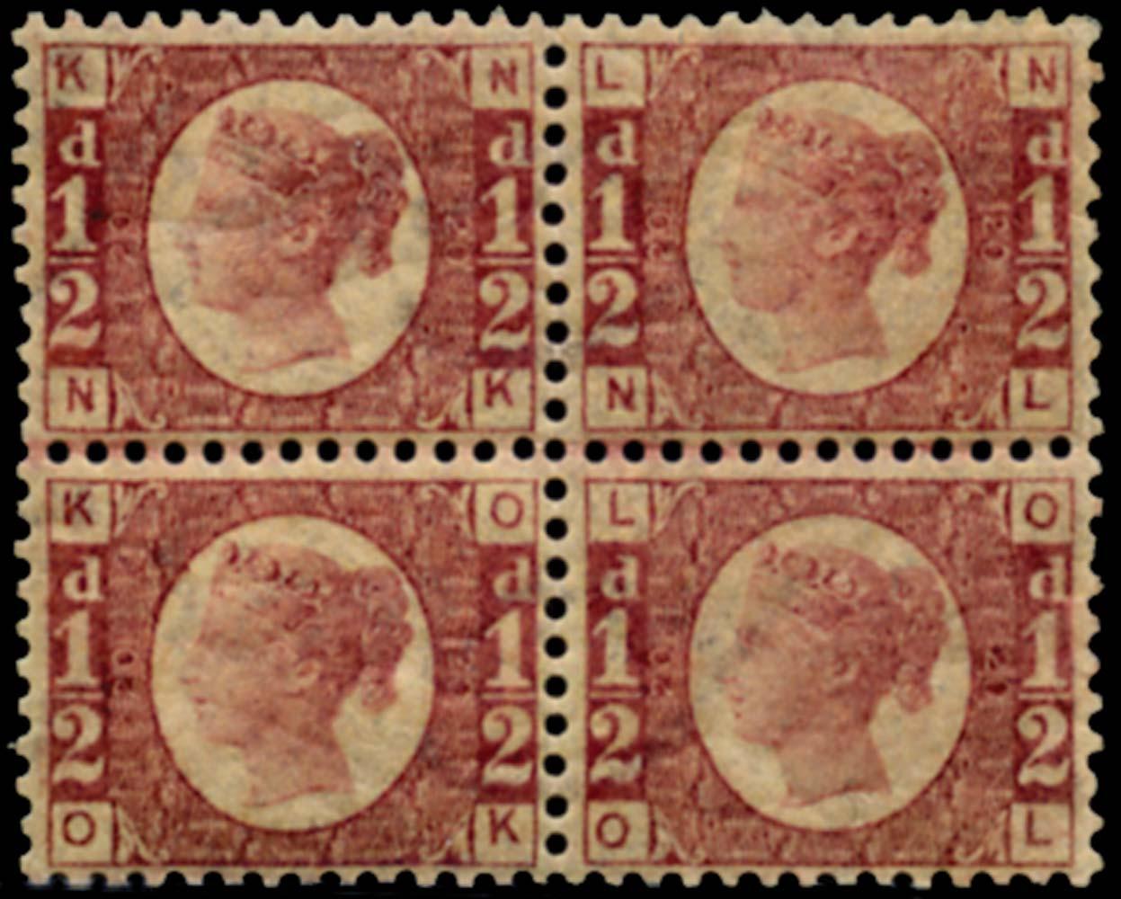 GB 1870  SG48 Pl.20 Mint