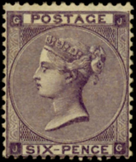 GB 1862  SG83 Pl.3 Mint