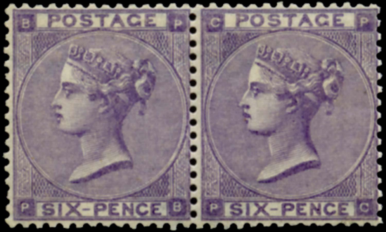 GB 1862  SG84 Pl.3 Mint