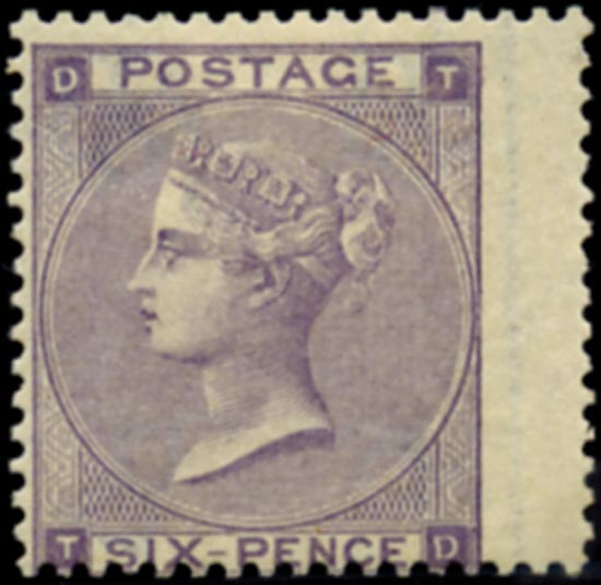 GB 1864  SG85 Pl.4 Mint