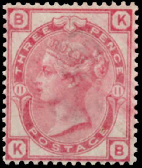 GB 1873  SG144 Pl.11 Mint - Unmounted o.g.