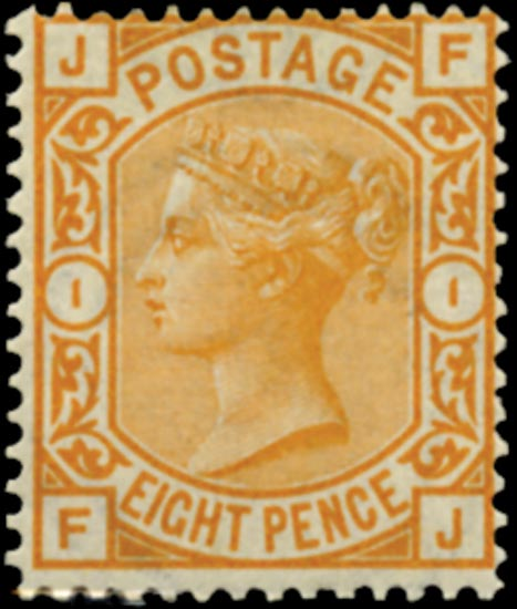 GB 1876  SG156 Pl.1 Mint
