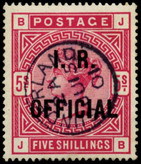 GB 1890  SGO9 Official