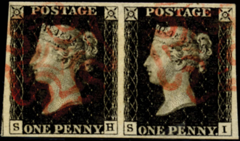 GB 1840  SG2 Pl.4 Penny Black