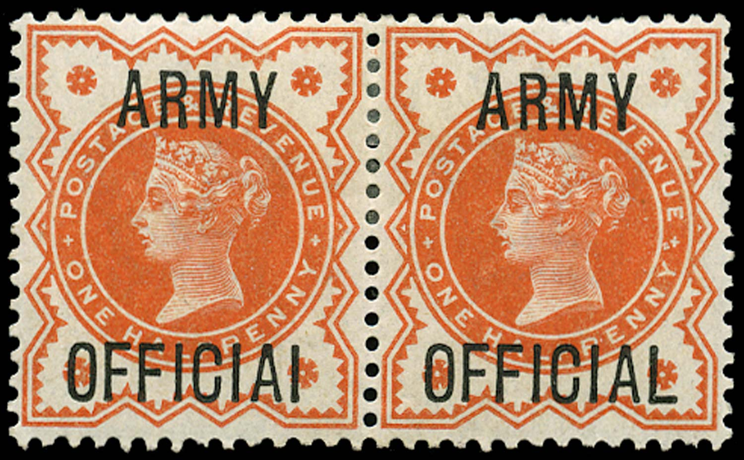 GB 1896  SGO41a Official (Army Official)