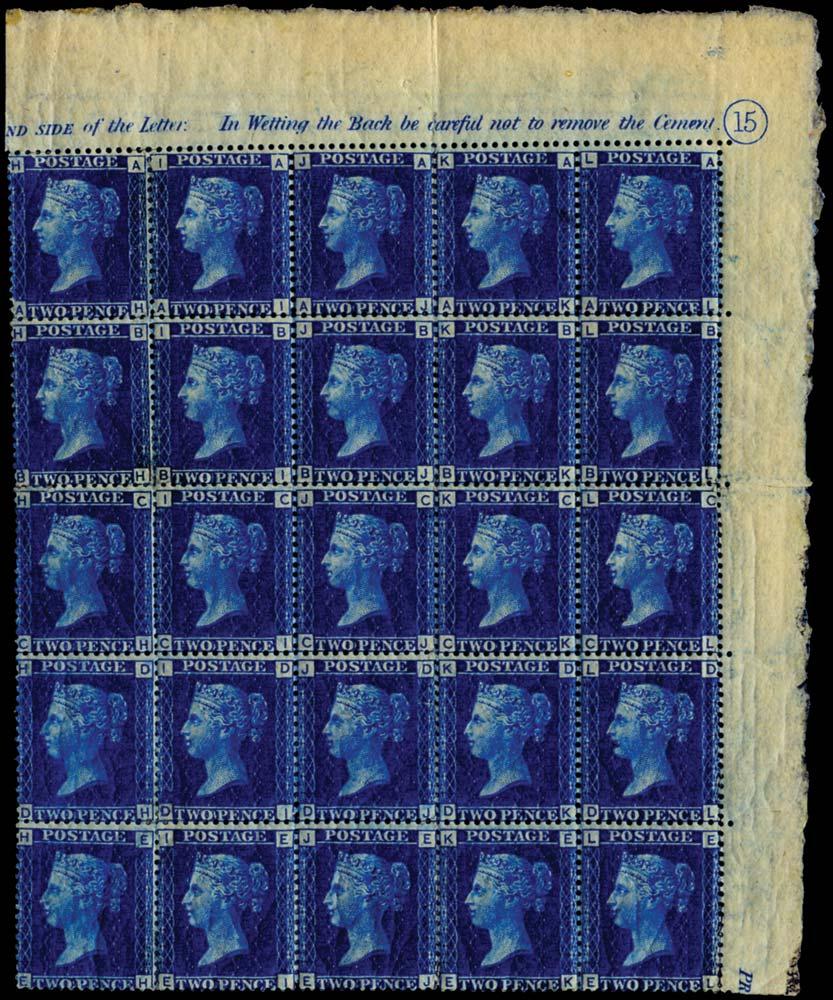 GB 1869  SG46 Pl.15 Mint