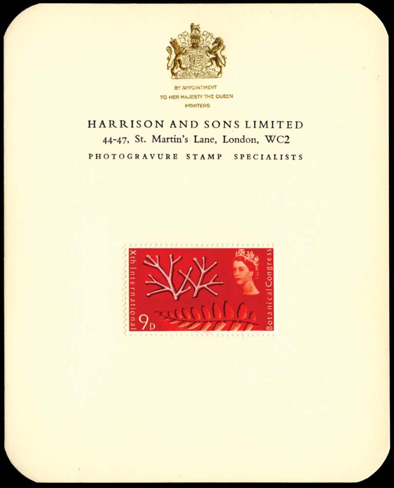 GB 1964  SG657var Essay - Ex Goaman Archive