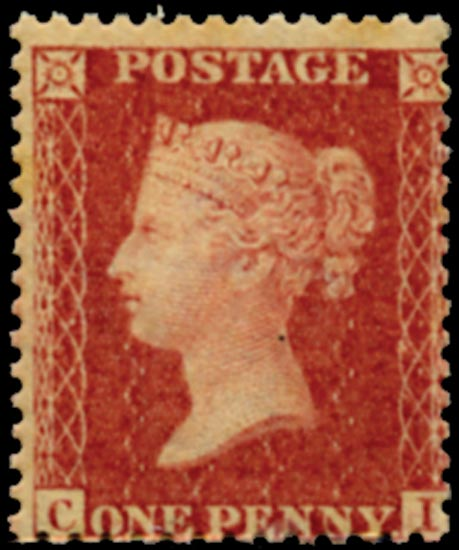 GB 1861  SG42 Pl.50 Mint - Unmounted o.g.