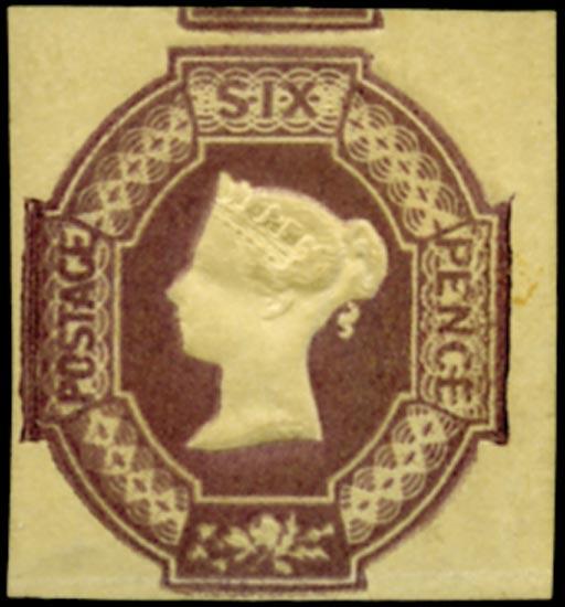 GB 1854  SG59wk Mint
