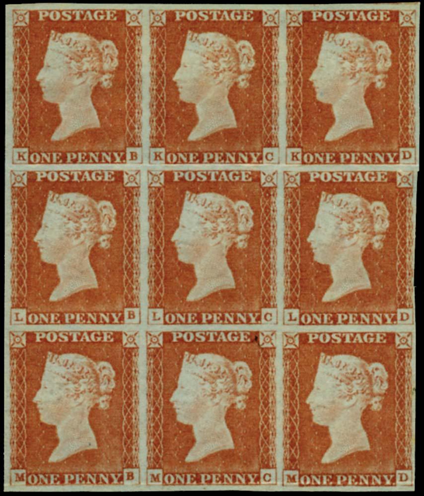 GB 1841  SG9 Pl.72 Mint